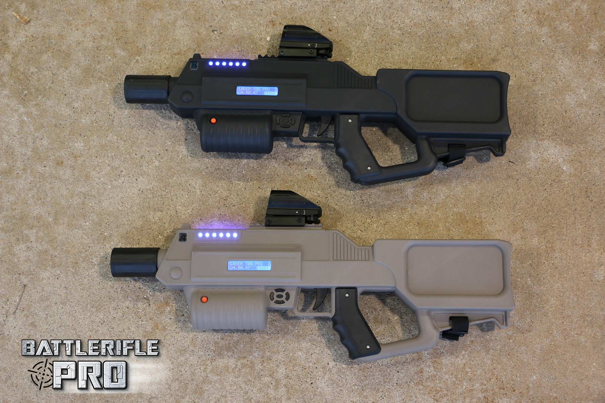 Battle Rifle Pro Laser Tag Pro Indoor Outdoor Amp Mobile