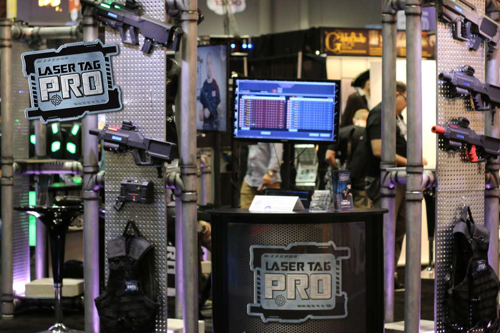 Laser Tag Pro Booth Blows Up Iaapa Laser Tag Pro