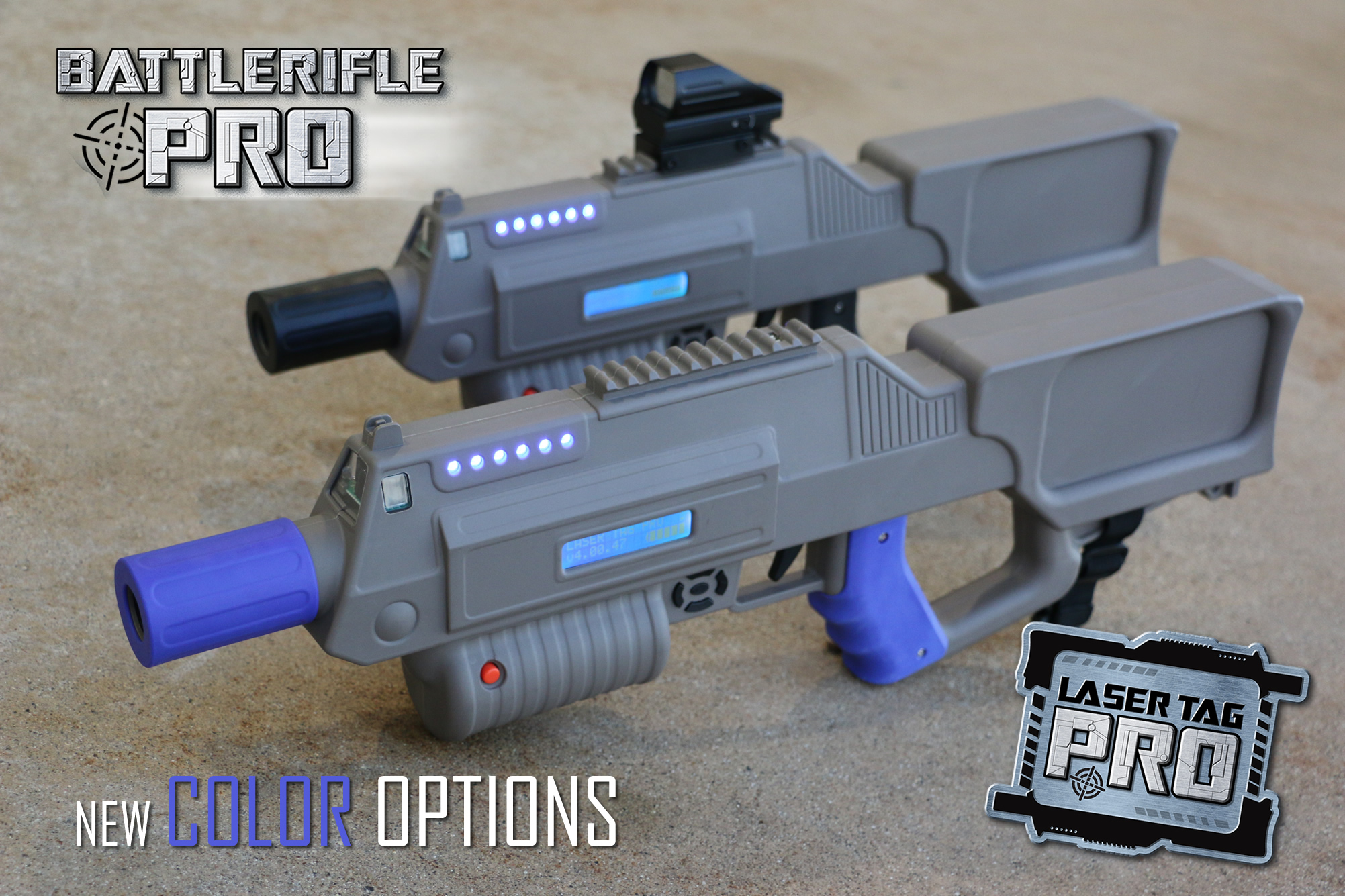 Laser Tag Pro Equipment Can Come In Diffe Colors Variations How About Changing It Up With Gray Colored Grips